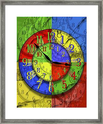 Changing Times Framed Print