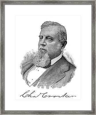 Charles Crocker (1822-1888) Framed Print