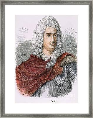 Charles-francois Du Fay Framed Print by Granger