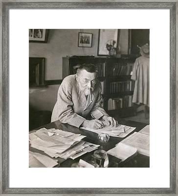 Charles P. Steinmetz 1865-1923 Framed Print by Everett