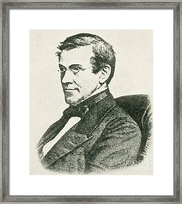 Charles Wheatstone, English Inventor Framed Print