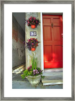 Charleston Home Series Framed Print by Wendy Mogul