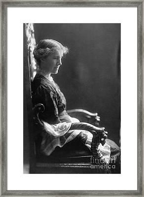 Charlotte Perkins Gilman Framed Print