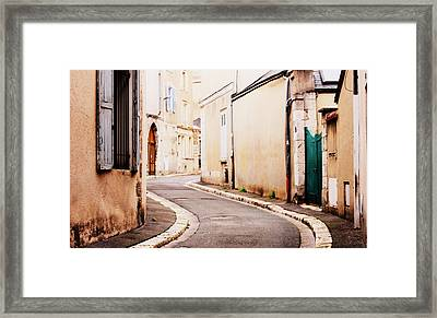 Chartres Framed Print by Rosemarie Hakim