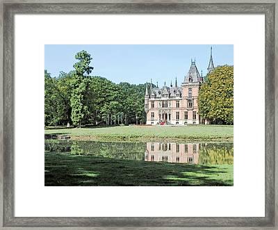 Chateau Aertrycke Torhout Belgium Framed Print by Joseph Hendrix