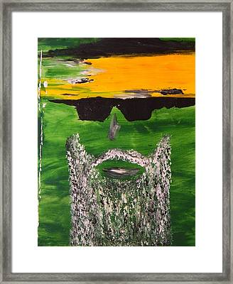 Framed Print featuring the painting Cheap Sunglasses by Everette McMahan jr