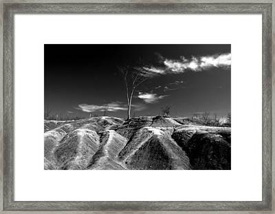 Cheltenham Badlands Framed Print by Cale Best