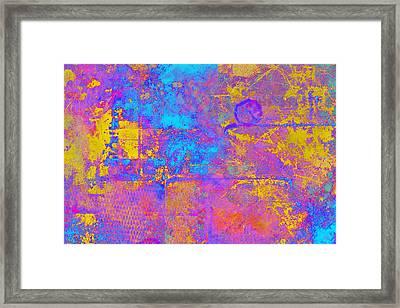 Chemiluminescence Framed Print by Christopher Gaston