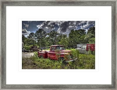 Chevrolet 3200 Framed Print by Alice Link