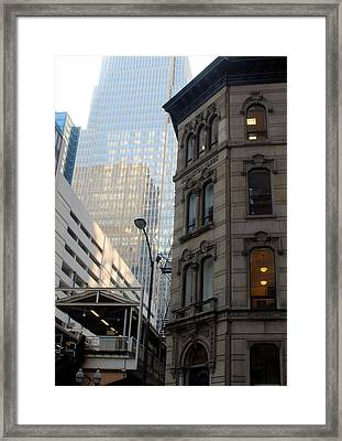 Chicago Architecture - 20 Framed Print by Ely Arsha