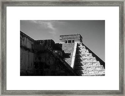 Chichen Itza Ruins Yucatan Mexico Framed Print