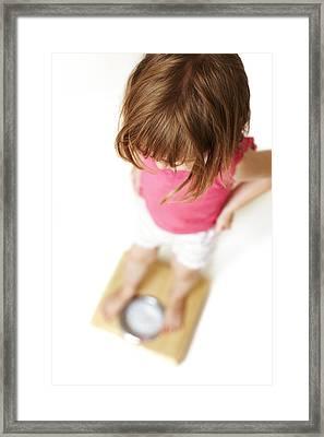 Childhood Dieting Framed Print by Ian Boddy