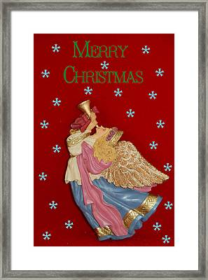 Christmas Angel Framed Print by Aimee L Maher Photography and Art Visit ALMGallerydotcom