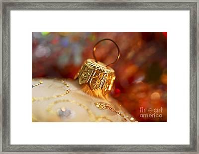 Christmas Ornament Framed Print by Elena Elisseeva