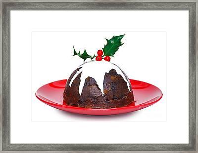 Christmas Pudding  Framed Print by Richard Thomas