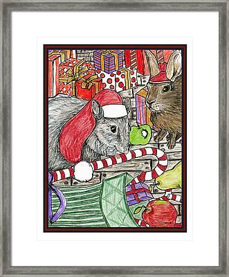 Christmas Treats Framed Print by Marla Saville