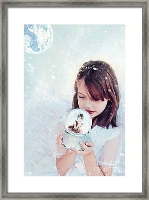 Christmas Wish Framed Print by Stephanie Frey