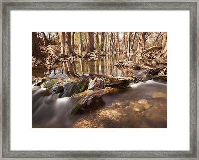 Cibolo Creek Framed Print by Paul Huchton