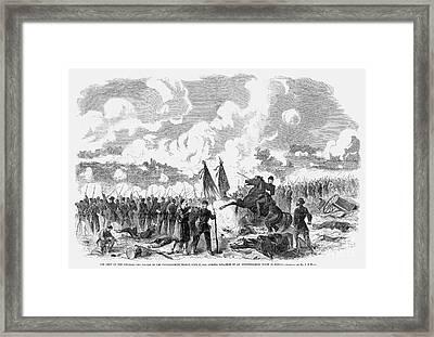 Civil War: 7 Days Battles Framed Print by Granger