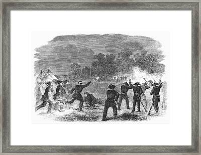 Civil War: Garibaldi Guard Framed Print