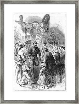 Civil War: Veteran, 1867 Framed Print by Granger
