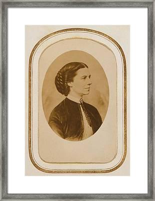 Clara Barton 1821-1912, At The End Framed Print by Everett