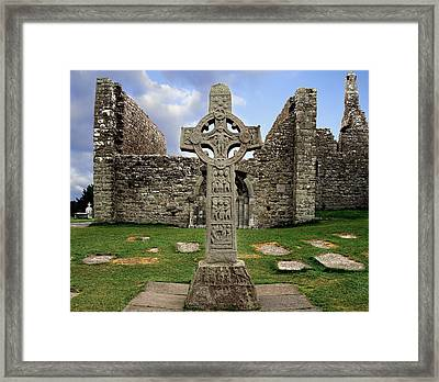 Clonmacnoise, Co. Offaly, Ireland Framed Print by The Irish Image Collection