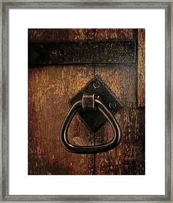 Close The Door Framed Print by Odd Jeppesen