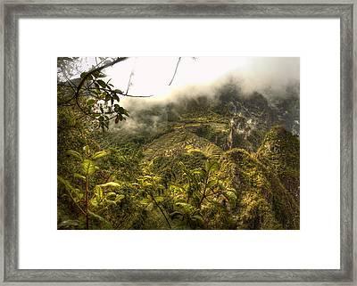 Cloud City Framed Print
