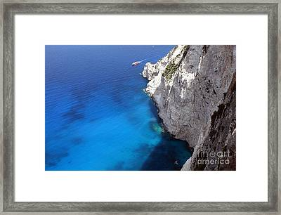 Framed Print featuring the photograph Coast by Milena Boeva