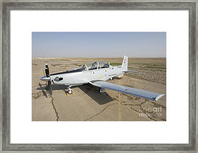 Cob Speicher, Tikrit, Iraq - A T-6 Framed Print by Terry Moore