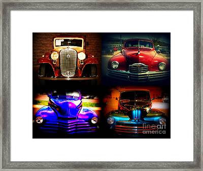 Collector Cars Framed Print