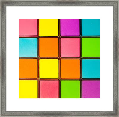 Colorful Background Framed Print by Tom Gowanlock