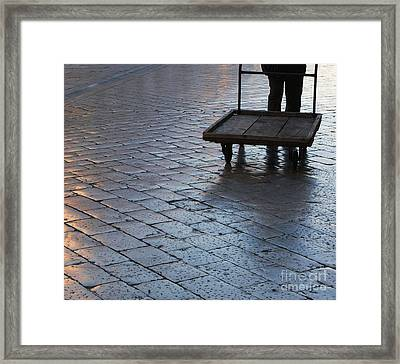 Framed Print featuring the photograph Colors Of Light by Andy Prendy