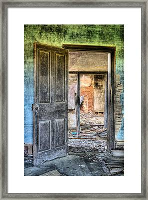 Come On In Framed Print by JC Findley