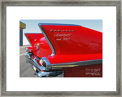 Framed Print featuring the photograph Comfort And Joy by Bill Thomson