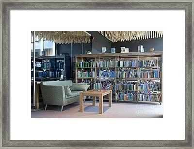 Community Office Library Framed Print