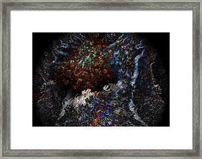 Conception Framed Print