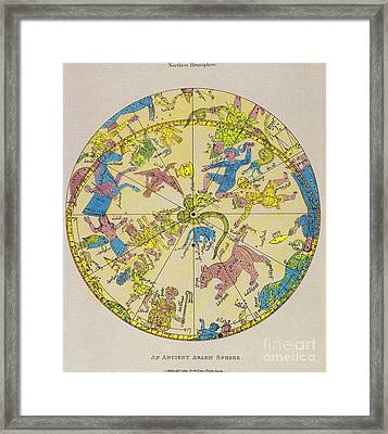 Constellations Framed Print by Science Source