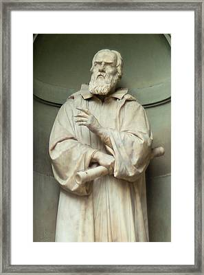 Contemplation Of Galileo Framed Print by Michael Flood