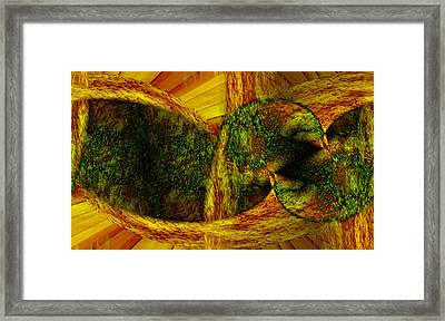 Convergence Framed Print by Christopher Gaston