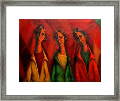 Coquettish Framed Print