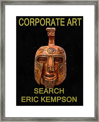 Corporate Art  Framed Print by Eric Kempson