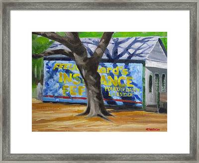 Country  Store Framed Print by Robert Rohrich