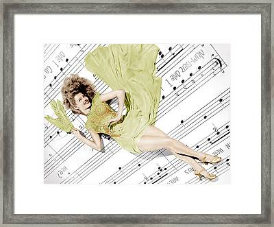 Cover Girl, Rita Hayworth, 1944 Framed Print