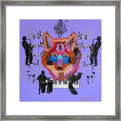 Coyote Harmony Framed Print