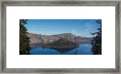 Crater Lake National Park Framed Print