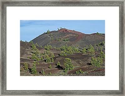Craters Of The Moon Framed Print by Elijah Weber