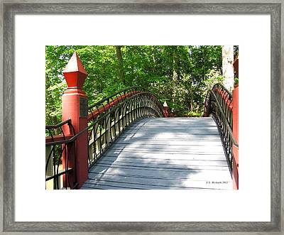 Crim Dell Bridge II Framed Print