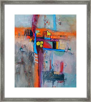 Crossroads Framed Print by Ron Stephens